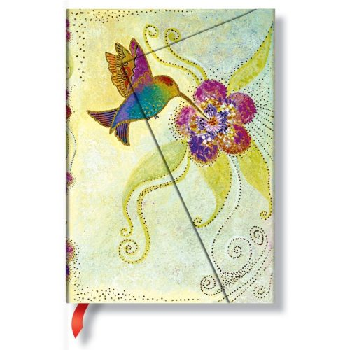 Paperblanks butikkönyv Hummingbird midi vonalas