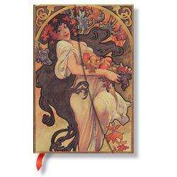 Paperblanks butikkönyv Autumn Maiden mini vonalas