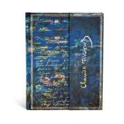 Paperblanks butikkönyv Monet, Water Lillies ultra üres