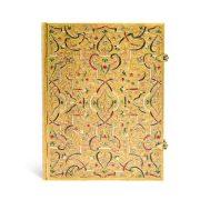 Paperblanks butikkönyv Gold Inlay ultra vonalas