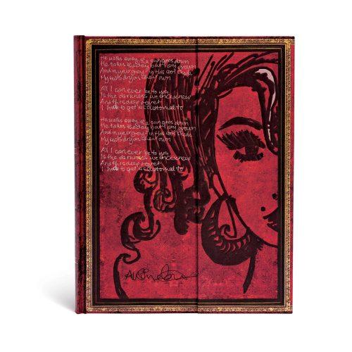 Paperblanks butikkönyv Amy Winehouse, Tears Dry ultra üres