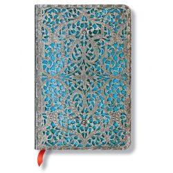 Paperblanks butikkönyv Maya Blue Classic mini vonalas