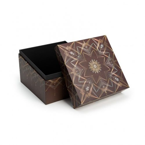 Paperblanks díszdoboz Bhava mini kocka alakú doboz