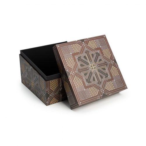 Paperblanks díszdoboz Dhyana mini kocka alakú doboz