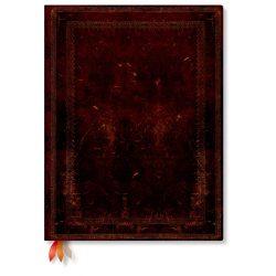 Paperblanks pontozott notesz Black Moroccan ultra (keményfedeles) 240 old.