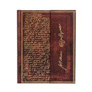 Paperblanks butikkönyv Shakespeare, Sir Thomas More ultra vonalas