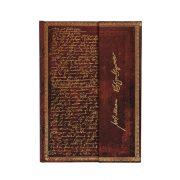 Paperblanks butikkönyv Shakespeare, Sir Thomas More midi vonalas