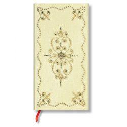 Paperblanks butikkönyv Buttercream slim vonalas