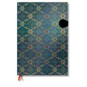 Paperblanks butikkönyv Bleu grande vonalas