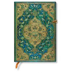 Paperblanks butikkönyv Turquoise Chronicles midi üres