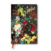 Paperblanks butikkönyv Van Huysum mini vonalas