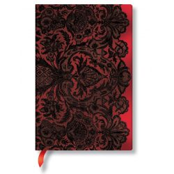 Paperblanks butikkönyv Rouge Boudoir mini vonalas
