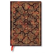 Paperblanks butikkönyv Mystique midi vonalas