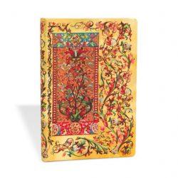 Paperblanks butikkönyv Tuscan Sun mini vonalas