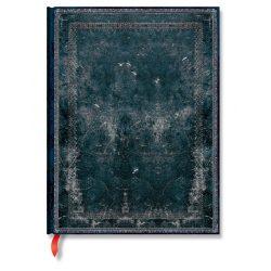 Paperblanks butikkönyv Midnight Steel ultra vonalas