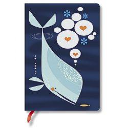 Paperblanks butikkönyv Whale and Friend midi üres