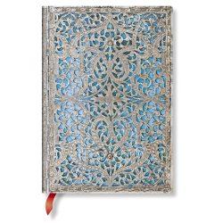Paperblanks butikkönyv Maya Blue midi vonalas