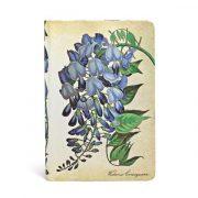 Paperblanks butikkönyv Blooming Wisteria mini üres