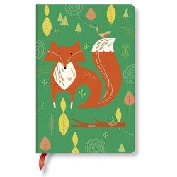 Paperblanks butikkönyv Mister Fox mini vonalas