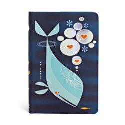 Paperblanks butikkönyv Whale and Friend mini vonalas
