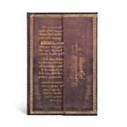 Paperblanks butikkönyv Tagore, Gitanjali mini vonalas