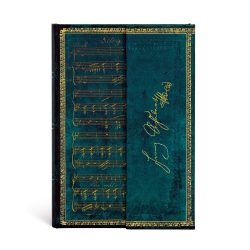 Paperblanks butikkönyv Schubert, Erlkönig mini vonalas