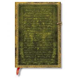 Paperblanks butikkönyv Rodin, The Thinker SE midi vonalas