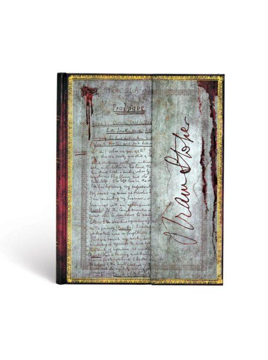 Paperblanks butikkönyv Bram Stoker, Dracula ultra üres