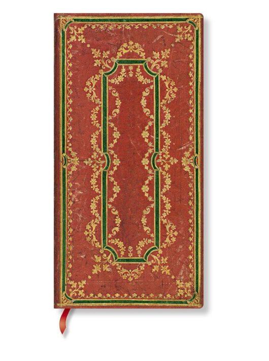 Paperblanks butikkönyv Ironberry slim vonalas