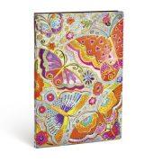 Paperblanks FLEXIS notesz, füzet Flutterbyes ultra vonalas 240 old.