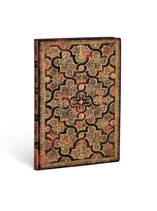 Paperblanks FLEXIS notesz, füzet Mystique ultra vonalas 176 old.