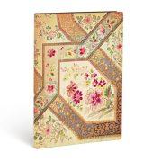 FLEXIS notesz, füzet Filigree Floral Ivory Kraft ultra vonalas 240 old.
