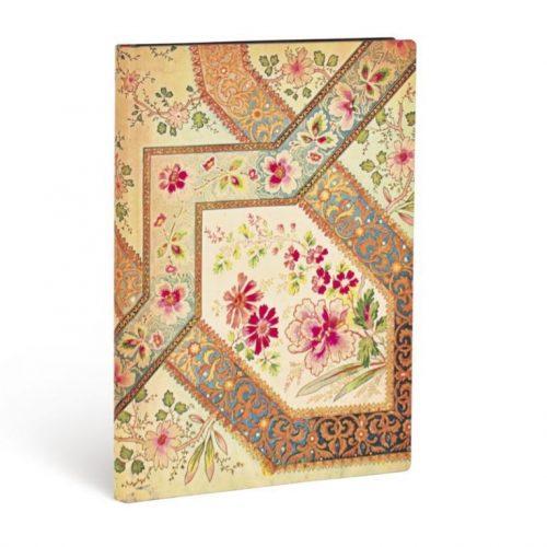 Paperblanks FLEXIS notesz, füzet Filigree Floral Ivory Kraft ultra vonalas 240 old.