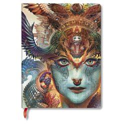 Paperblanks butikkönyv Dharma Dragon ultra vonalas