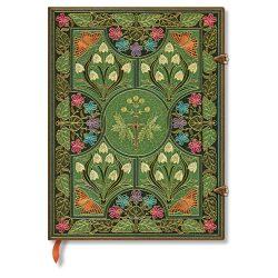 Paperblanks butikkönyv Poetry in Bloom ultra vonalas