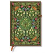 Paperblanks butikkönyv Poetry in Bloom midi vonalas