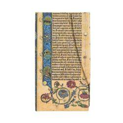Paperblanks butikkönyv Genesis slim vonalas