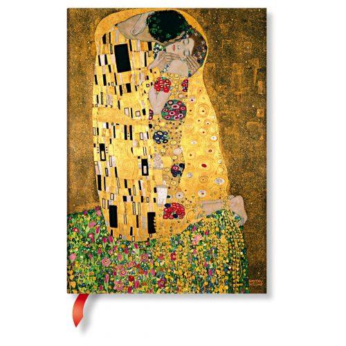 Paperblanks butikkönyv Klimt's 100th Anniversary – The Kiss  midi vonalas