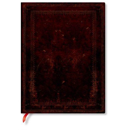 FLEXIS notesz, füzet Black Moroccan Bold ultra üres 240 old.
