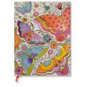 Paperblanks FLEXIS notesz, füzet Flutterbyes ultra üres 176 old.