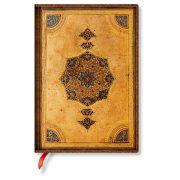 Paperblanks FLEXIS notesz, füzet Safavid midi üres 176 old.