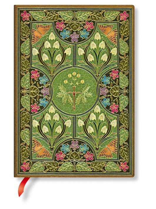 Paperblanks FLEXIS notesz, füzet Poetry in Bloom midi vonalas 240 old.