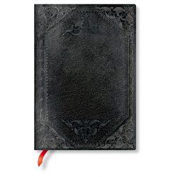 FLEXIS notesz, füzet Midnight Rebel Bold midi üres 240 old.