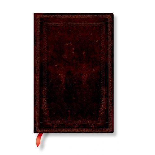 Paperblanks FLEXIS notesz, füzet Black Moroccan Bold mini üres 176 old.