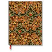 Paperblanks butikkönyv Fire Flowers ultra vonalas