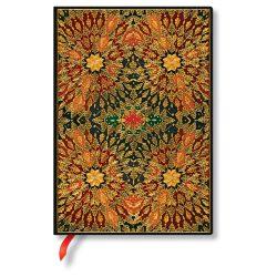 Paperblanks butikkönyv Fire Flowers midi vonalas