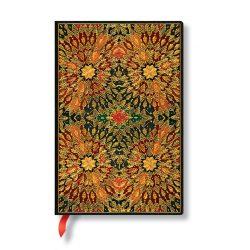 Paperblanks butikkönyv Fire Flowers mini vonalas