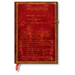 Paperblanks butikkönyv Napoleon's 250th Anniversary midi üres