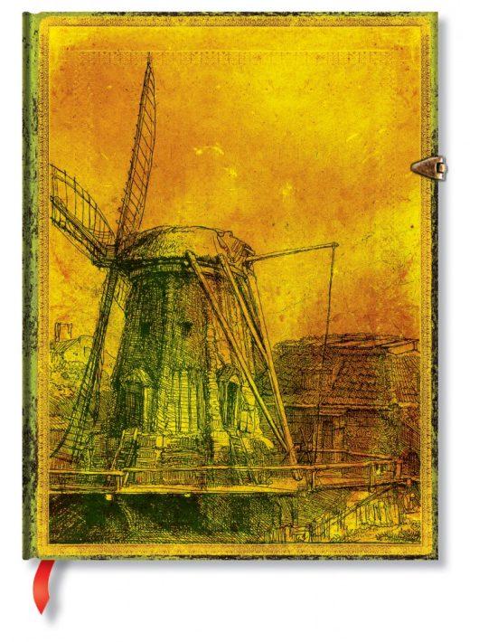 Paperblanks butikkönyv Rembrandt's 350th Anniversary ultra üres