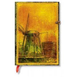 Paperblanks butikkönyv Rembrandt's 350th Anniversary midi üres